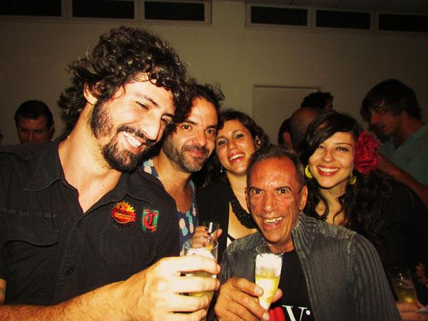DJ Barata, Marcelo Alves, Mariana Soares, Dimer Monteiro, Mikaela Neiva Foto Renato Acha