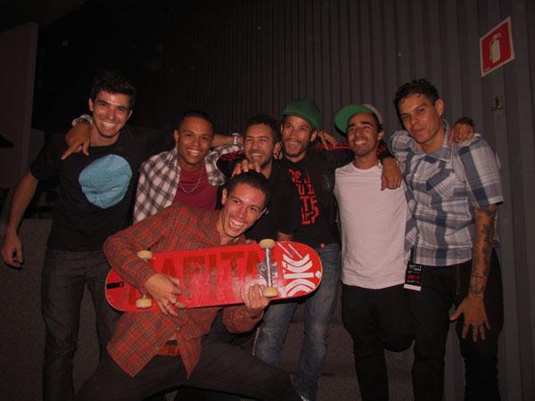 Vitor Sariema, Jay Alves, Washington Pereira, Eduardo Macedo , Alladin e Camilo Neres Foto Renato Acha