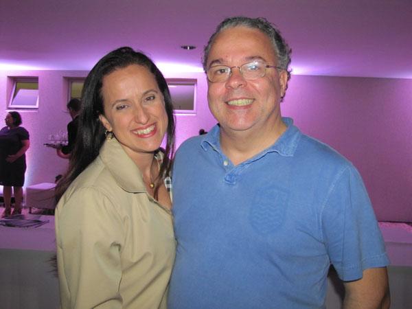 Andreia Salles e Jorge Eduardo Antunes.