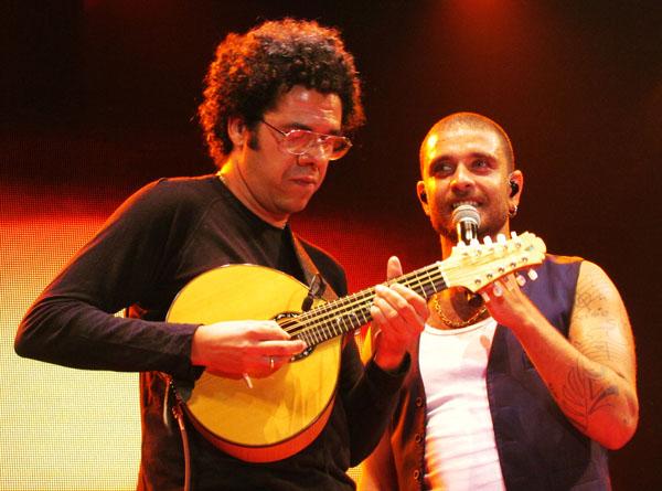 Hamilton de Holanda e Diogo Nogueira Foto Renato Acha