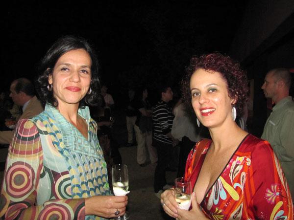 Paola Antony e Ericka Van Den Beusch.