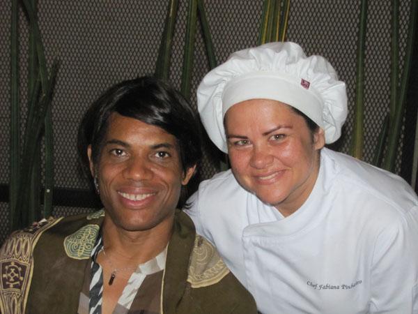 Stanley Jordan e Fabiana Pinheiro.