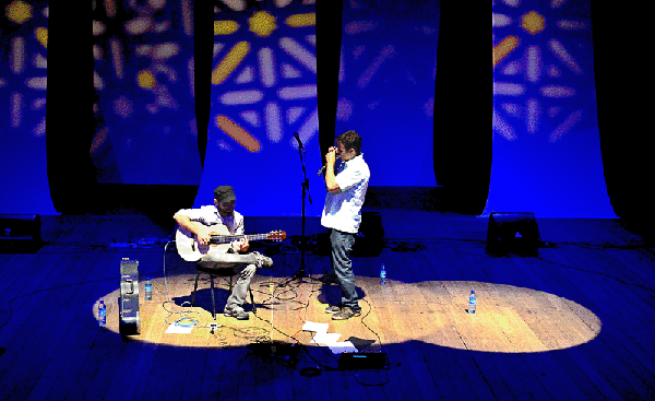 Pablo Fagundes e Marcos Moraes. Divulgação.