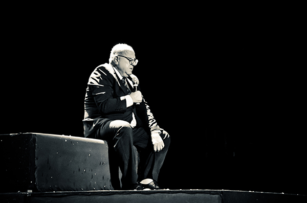 The Best of Leo Bassi. Foto: Celso Pereira. Divulgação.