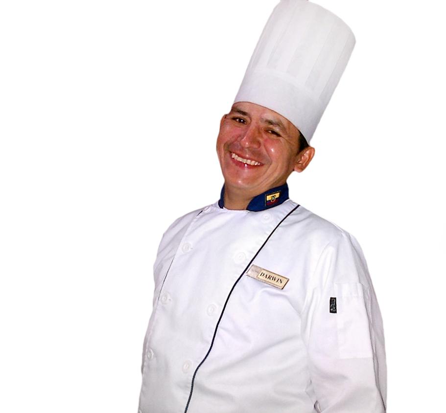 Chef Darwin Ramírez. Foto: Angel Pindola.