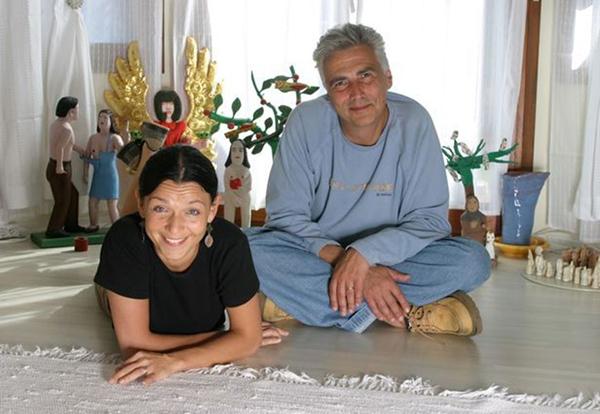 Joanna Kos Krause e  Krzysztof Krauzek.
