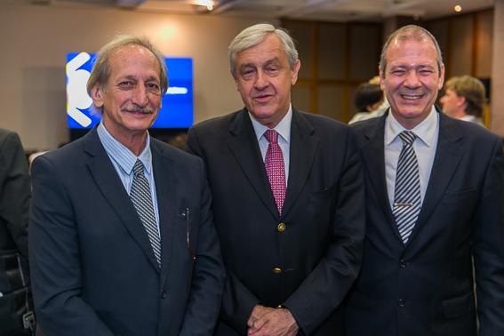 Fernando Lummertz, Edgar Lisboa e Godofredo Martins Neto.
