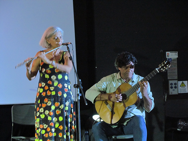 Odette e Jaime Ernest Dias.