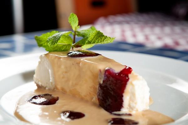 Cheese Cake, Nossa Cozinha Bistro (Chef Alexandre Albanese).