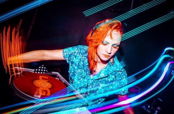 DJ Donna. Foto: Pedro Lacerda.
