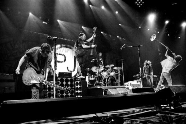 Pearl Jam. Foto: Danny Clinch. Divulgação.