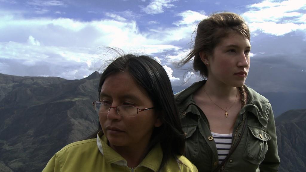 Tempestade nos Andes.
