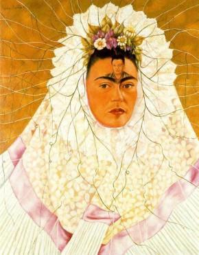 Frida-Kahlo-Diego-en-mi-pensamiento-Frida-de-Tehuana-