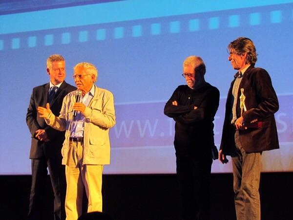 Rodrigo Rollemberg, Vladimir de Carvalho, Walter Carvalho e Guilherme Reis.