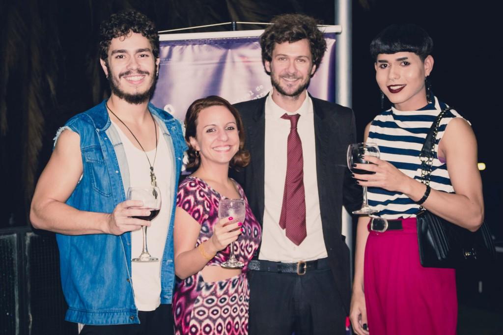 Gustavo Letruta, Ana Arruda, Nicolas Corman e Maia Voleau.
