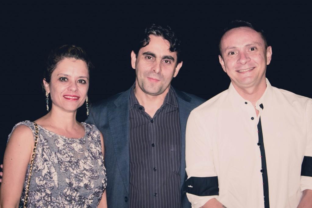 Monica Castilho Costa, Alexandre Costa e Henrique Rocha.