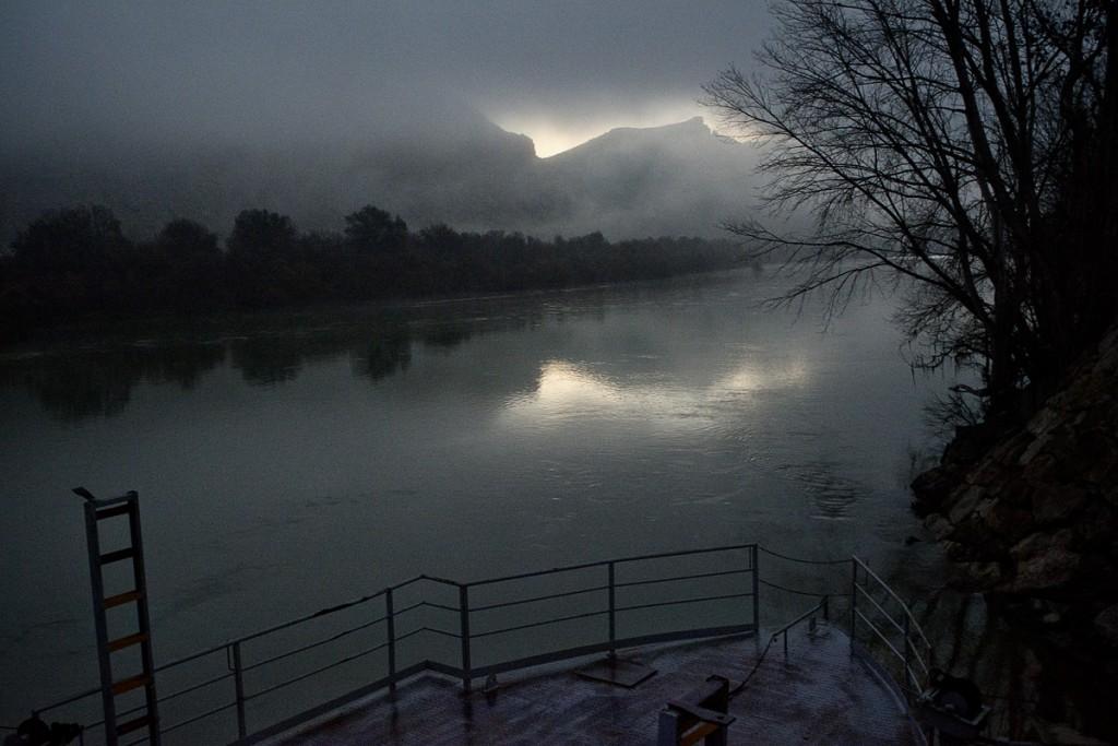 Rio Ebro (Zaragoza).