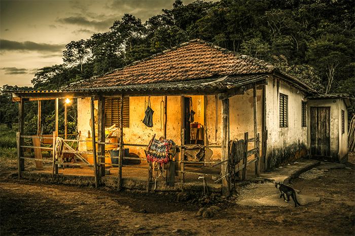 """Era uma casa"" de Marcos Lamas. Medalha de Prta. Brasília Photo Show 2015/16."