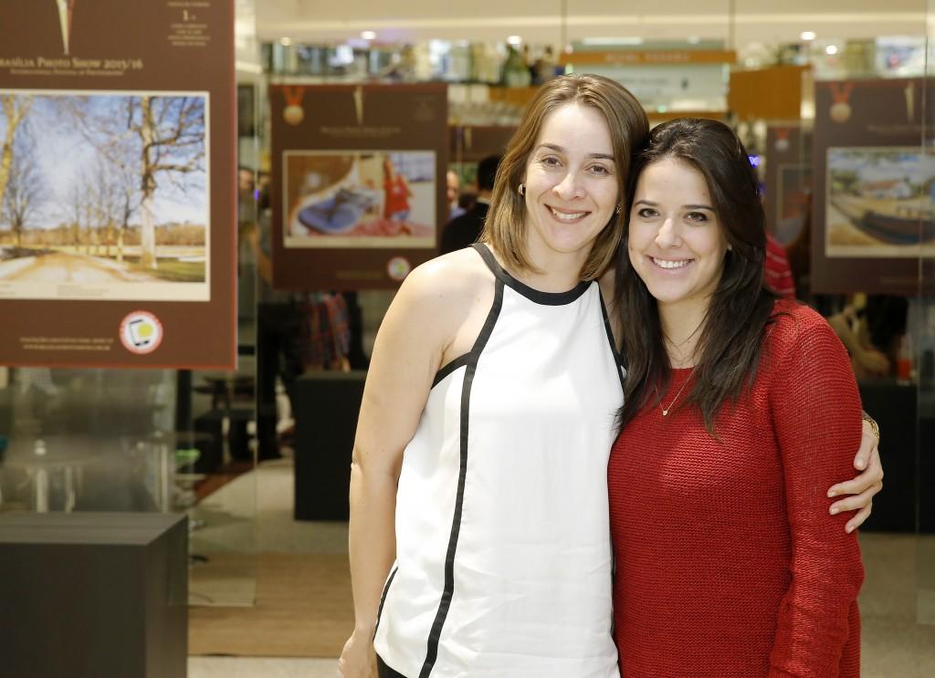 Natalia Vaz e Marcella Tannus.