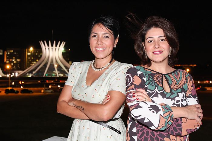 Diana Leiko e Soraya Lacerda.