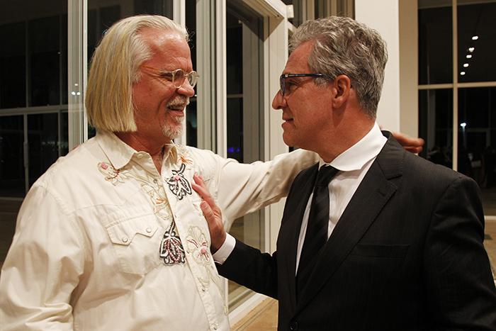 Nicolas Behr e Ary Quintella.