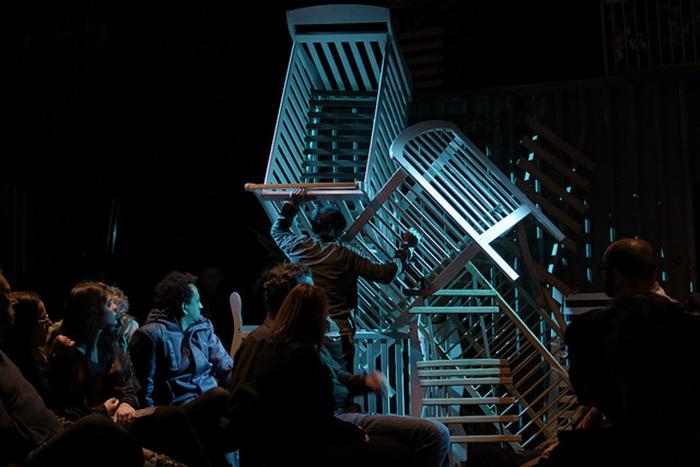"""""""O Filho"""". Teatro da Vertigem. Foto: Flávio Portella."""