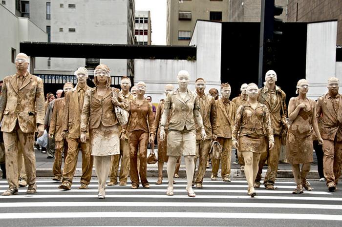 """Cegos"" (São Paulo). Foto: Eduardo Bernardino."