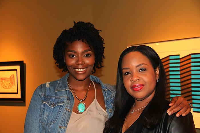 Ashlee Constance e Resa Layne Embaixada de Barbados.