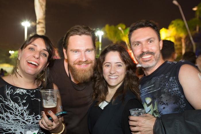 Dani Estrella, Kai Kundrat, Lívia Frazão e Fernando Vasconcelos.
