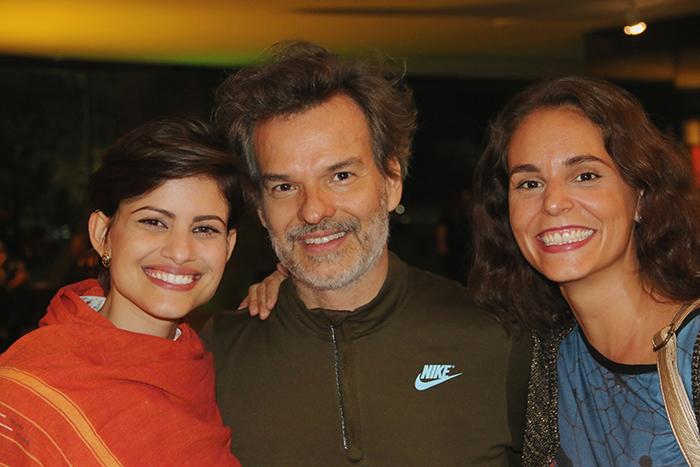 Joana Bentes, Vicente de Mello e Amanda Guerra.