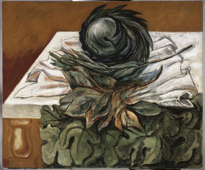Las coles (1944). José Clemente Orozco. Museo Carrillo Gil. Instituto Nacional de Bellas Artes (México).
