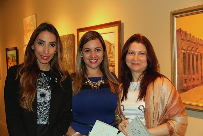 Melissa Riera, Cintia Romero e Rossy Riquelme.