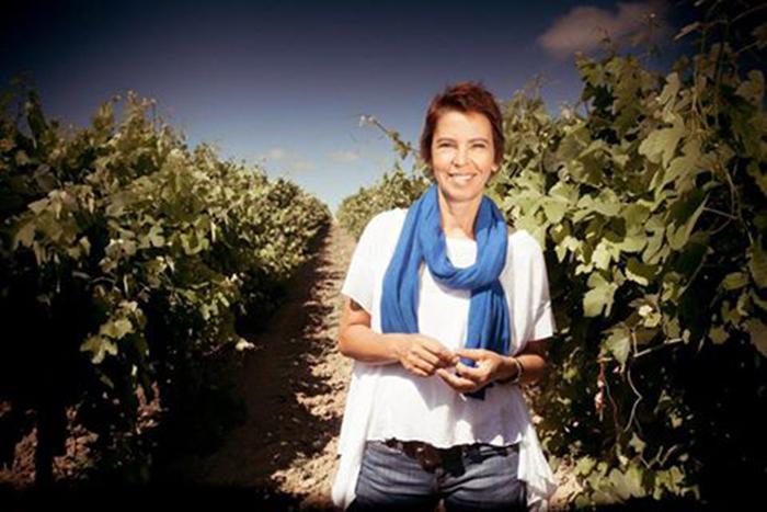 Sílvia Canas da Costa, gestora da vinícola Quinta da Lapa.