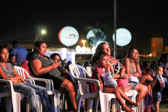 Cine Circular no Parque da Cidade